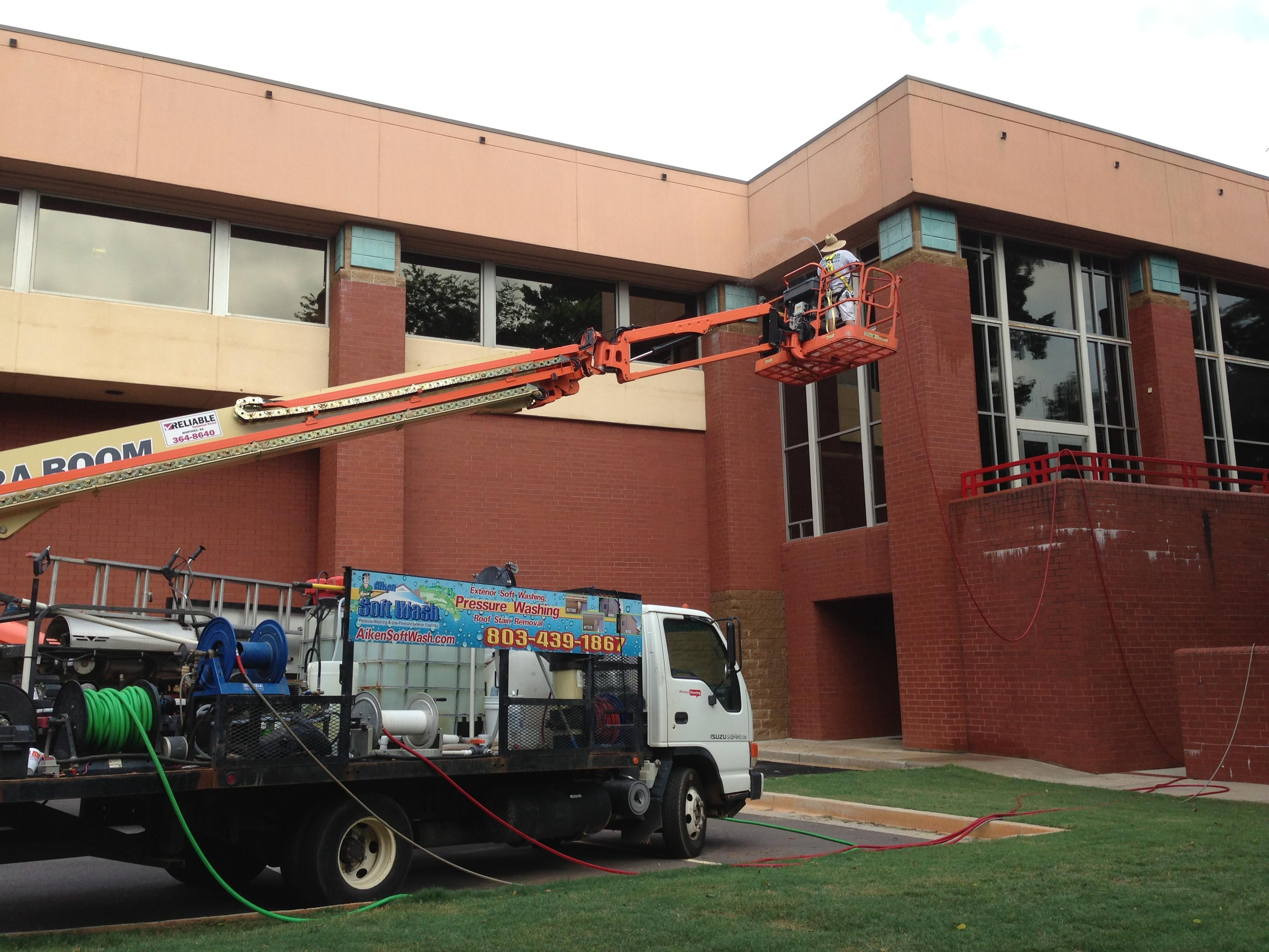Commercial Property Exterior Cleaning And Pressure Washing