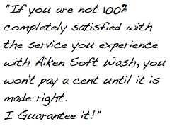 Happy Customers Aiken Soft Wash