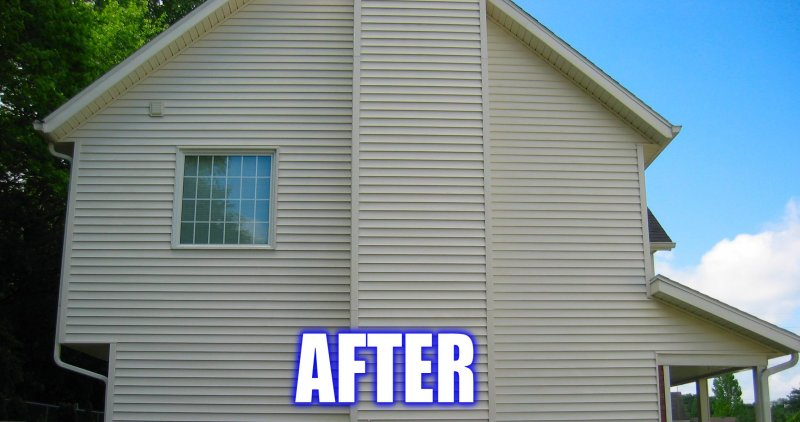 Cleaning Vinyl Siding Aiken SC